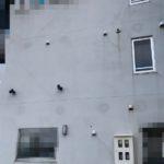 築数年での外壁面のクラック事例
