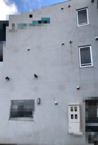 外壁のクラック事例